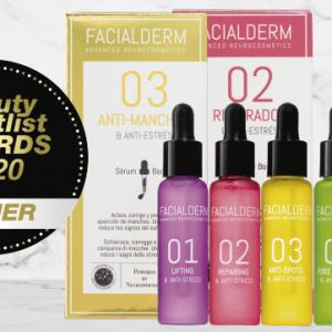 Facialderm, ganadora de los Beauty Shortlist Awards como marca innovadora