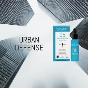 Urban Defense sérum booster Anti-polución & Luz Azul, tu mejor aliado para cuidar tu piel en la ciudad