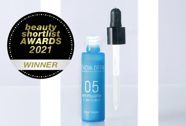 El sérum Antipolución ganador delos Beauty Shortlist Awards2021